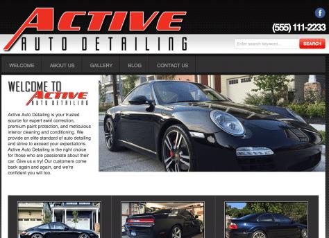Active Auto Detailing SEO411 Portfolio SEO411 Active Auto Detailing