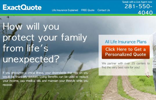 Exact Quote SEO411 Portfolio SEO411 ExactQuote.com