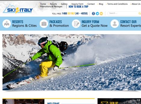 Ski2Italy SEO411 Portfolio SEO411 Ski2Italy.com