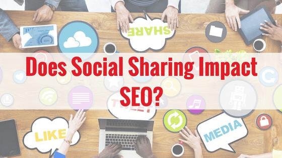 Does Social Sharing Impact SEO SEO411 Does Social Sharing Impact SEO?