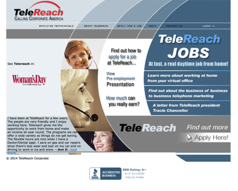 telereach old web SEO411 Telereach Jobs