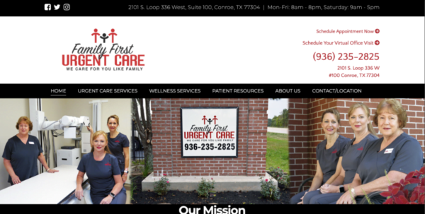 PastedGraphic 6 e1600549749595 SEO411 Family First Urgent Care Conroe