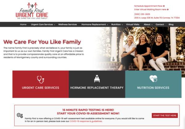 PastedGraphic 2 e1596201714739 SEO411 Family First Urgent Care Conroe