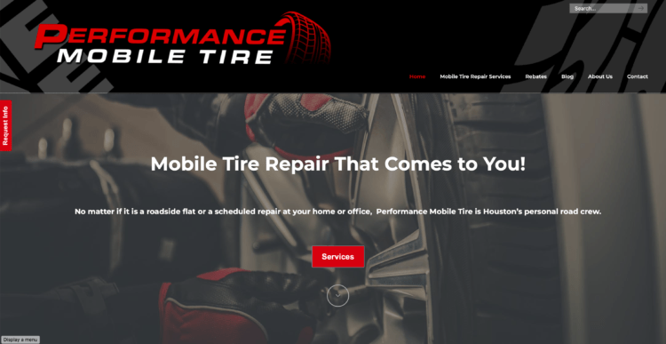 mobile tire repair for Houston