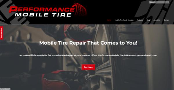 mobile tire repair for Houston